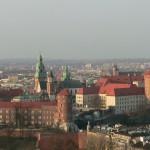 Kraków z wysokości